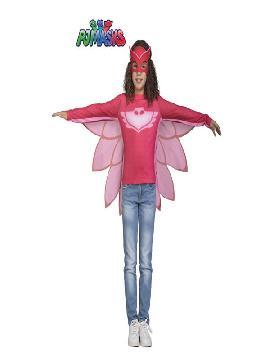 disfraz de buhita de pj masks para niña