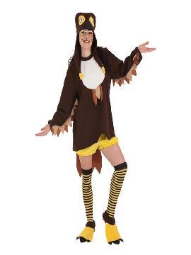 disfraz de buho loca para mujer