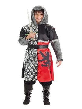 disfraz de caballero del leon para niño