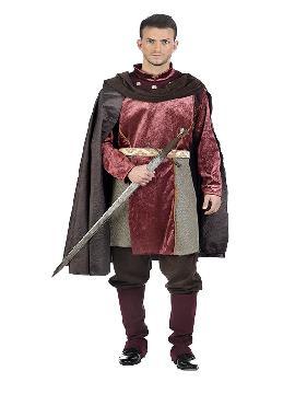 disfraz de caballero medieval carlos hombre