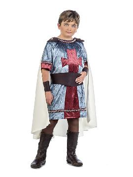 disfraz de caballero medieval diago niño