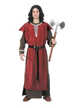 disfraz de caballero medieval hombre adulto