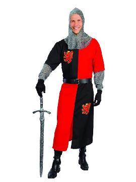 disfraz de caballero medieval para hombre. Te convertirás en una auténtico hombre de la época medieval cuando lleves este traje, representaciones teatrales, bodas medievales y mercados. Este disfraz es ideal para tus fiestas temáticas de disfraces época y medievales para la edad media adulto