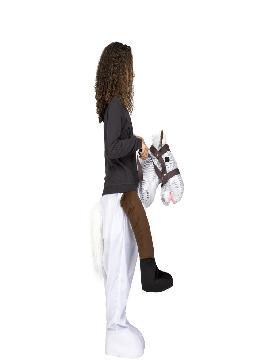 disfraz de caballo a hombros para niños