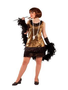disfraz de cabaret lentejuelas mujer