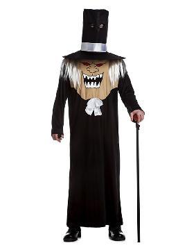 disfraz de cabezón gótico para hombre