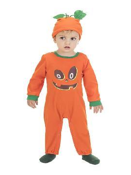 disfraz de calabaza body para bebe