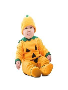 disfraz de calabaza sonriente para bebe