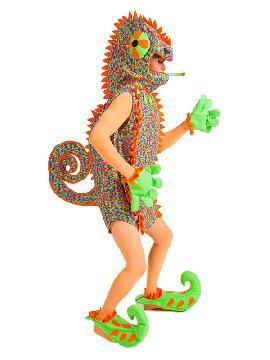disfraz de camaleon para mujer