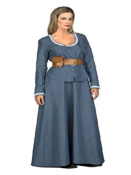 disfraz de camarera del oeste para mujer