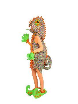 disfraz de camaleon para mujer adulto