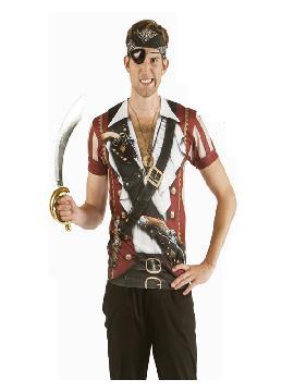 disfraz de camiseta pirata para hombre