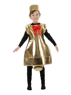 disfraz de campana belen para niño