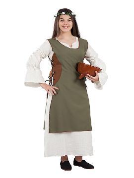 disfraz de campesina medieval para mujer