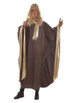 disfraz de cantante de gospel dorado para hombre