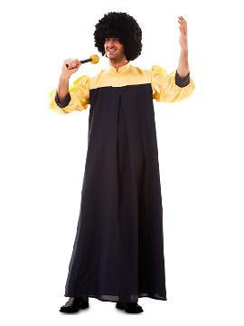disfraz de cantante de gospel para hombre