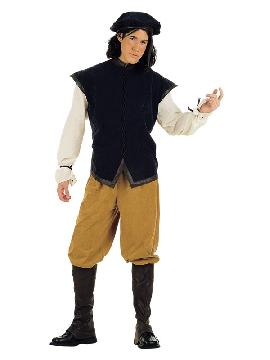 disfraz de cantinero medieval para hombre