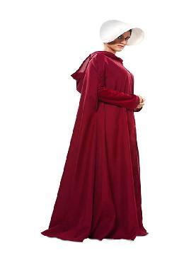 disfraz de capa criada para mujer