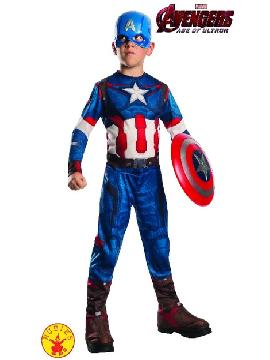disfraz de capitan american classic infantil