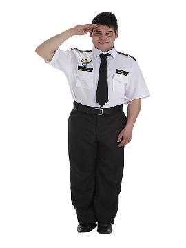disfraz de capitan de avion para hombre