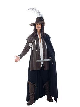 disfraz de capitan diego medieval hombre lujo