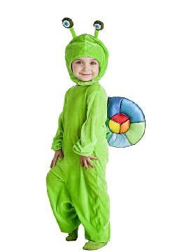 disfraz de caracol para niño
