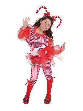 disfraz de caramelo para niña
