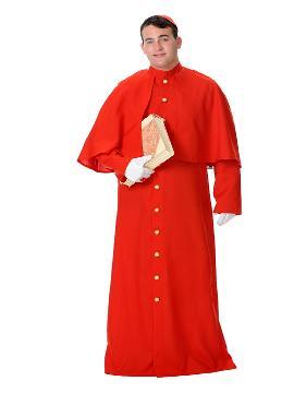 disfraz de cardenal hombre
