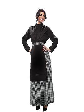 Disfraz de castañera mujer adulto. Se trata de un traje muy demandado e ideal para festivales de otoño en el colegio o castañadas.