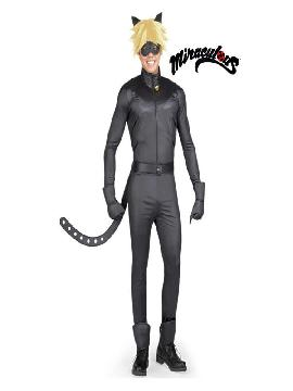 disfraz de cat noir de para hombre