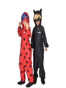 disfraz de cat noir pijama de ladybug para niño