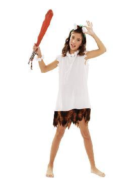 disfraz de cavernicola wilma niña