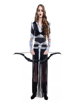 disfraz de cazadora de brujas mujer