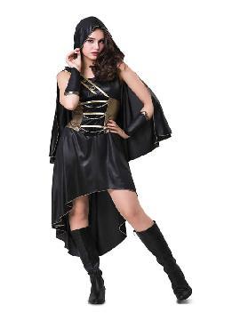 disfraz de cazadora medieval para mujer