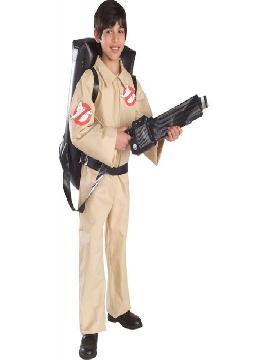 disfraz de cazafantasmas para niño