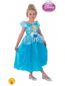 disfraz de cenicienta story classic niña. Compra tu disfraz barato niña infantil para tu grupo. Este traje es ideal para tus fiestas temáticas de princesa cenicienta de cuento disney.