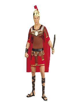 disfraz de centurion romano hombre.También sirve como disfraz de Herodes para Navidad. Éste disfraz de Carnaval es ideal para divertirse en las Fiestas de Carnavales tan divertidas y estrambóticas como siempre y que cada vez se celebran en más Pueblos.Este disfraz es ideal para tus fiestas temáticas de disfraces romanos y egipcios para hombre adultos.