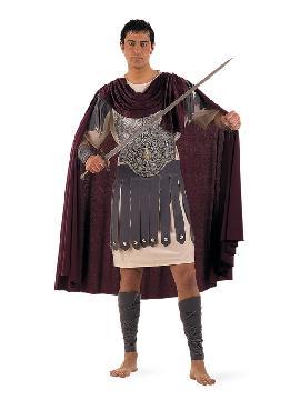 disfraz de centurión romano para hombre. Éste disfraz de Carnaval es ideal para divertirse en las Fiestas de Carnavales tan divertidas y estrambóticas como siempre y que cada vez se celebran en más Pueblos.Este disfraz es ideal para tus fiestas temáticas de disfraces romanos y egipcios para adultos. Fabricación nacional.
