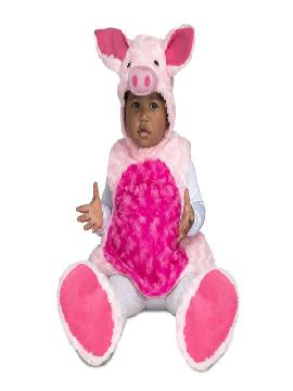disfraz de cerdito peluche para niña