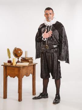 disfraz de cervantes para hombre adultos