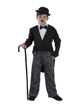disfraz de charles chaplin niño