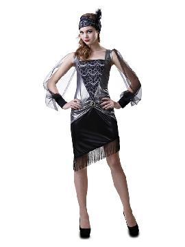 disfraz de chica años 20 lujo mujer