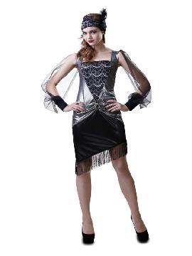 disfraz de chica años 30 mujer