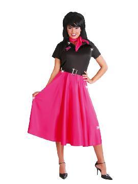 disfraz de chica años 50 retro mujer