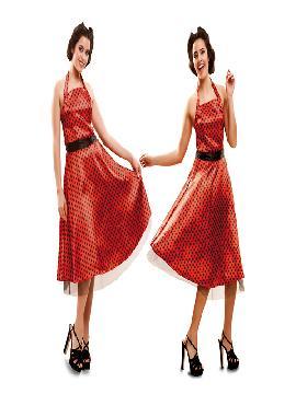 disfraz de chica de los años 50 elegante mujer