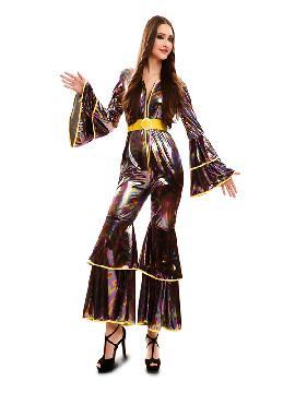 disfraz de chica disco de los 70 para mujer
