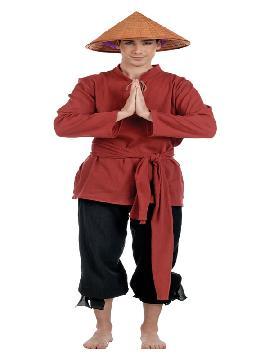 disfraz de chino jumin hombre
