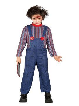 disfraz de chucky muñeco para niño