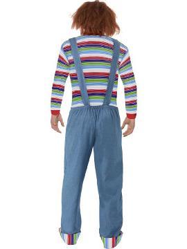 disfraz de chucky para hombre