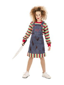 disfraz de chucky poseida para niña